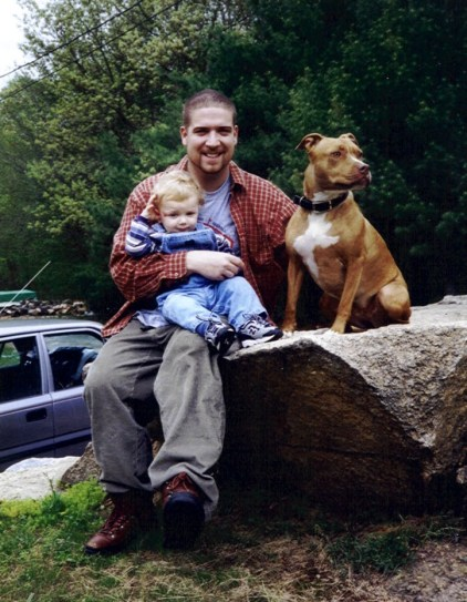 Kevin (Feb 26, 1977- May 14, 2000) with his son, Daniel