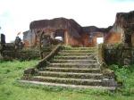 Destroyed home, Muang Khoune (old Xieng Khouangville)