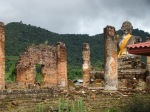Temple remnants in Muang Khoune
