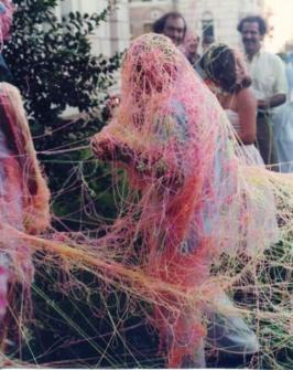 Silly string overload.