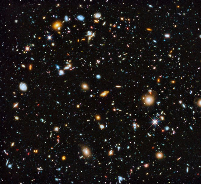 Astronomers using the Hubble Space Telescope have captured the most comprehensive picture ever assembled of the evolving Universe — and one of the most colourful. The study is called the Ultraviolet Coverage of the Hubble Ultra Deep Field (UVUDF) project.
