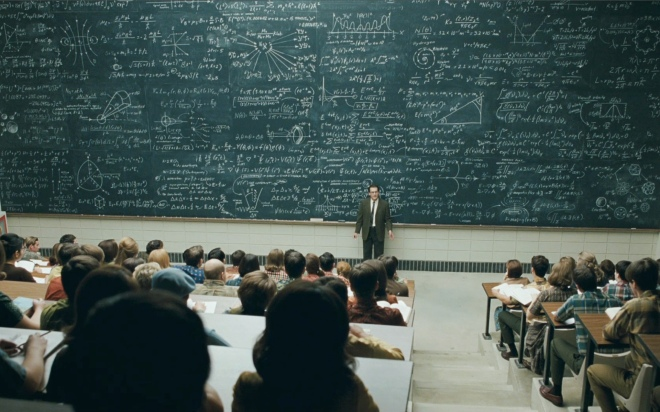 "From the Coen Brothers' movie ""A Serious Man.' This blog isn't physics, but I've tried to cover a wide range of topics."