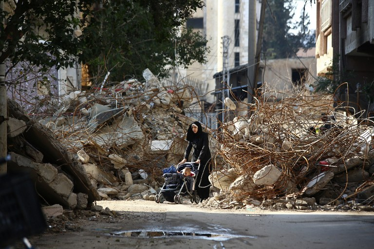 TOPSHOTS-SYRIA-CONFLICT-DAILY LIFE