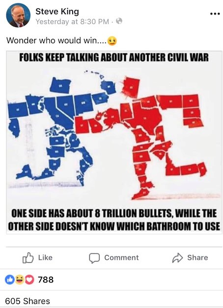 Red States versus Blue States: Who Would Win a Civil War in ...