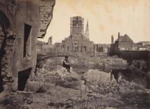 Ruins in Charleston, S.C. (Source: https://www.wunc.org/post/duke-performances-setting-rare-civil-war-photos-music)