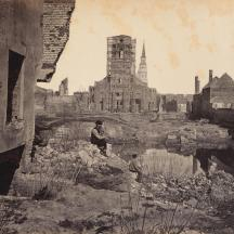 Ruins in Charleston, S.C. (Source: https://www.wunc.org/post/duke-performances-setting-rare-civil-war-photos-music)