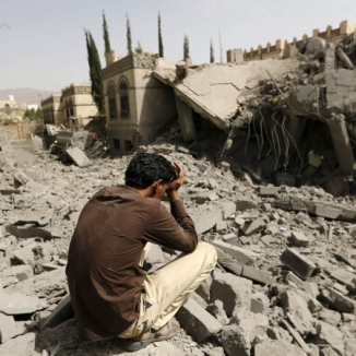 Destruction in Yemen